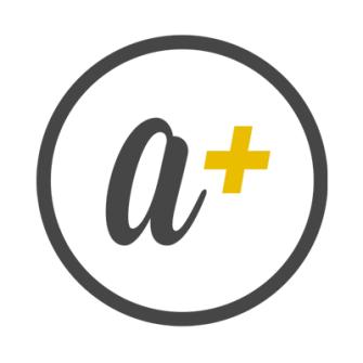 aplus_logo_400x400_black_yellow